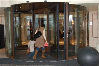 are automatic doors safe