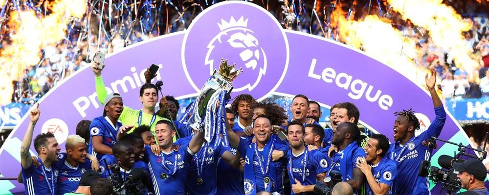 Chelsea Premier League Champions 16-17