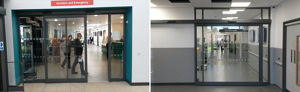 Emergency Automatic Doors