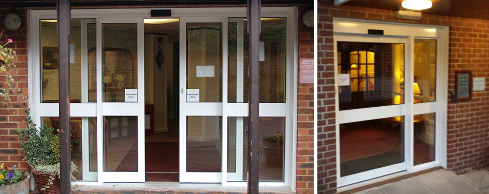 Automatic Doors Retirement Home