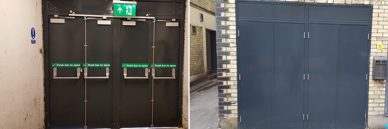 Automatic Access door work at Soho