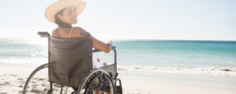 Wheelchair holidays