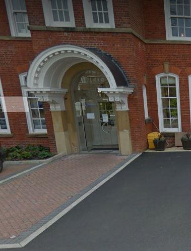Kenton Lodge All Glass Door & Arch with Underfloor Automatic Door Operator