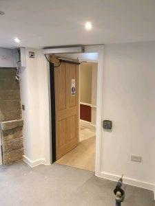 Buxton Crescent Automatic Door